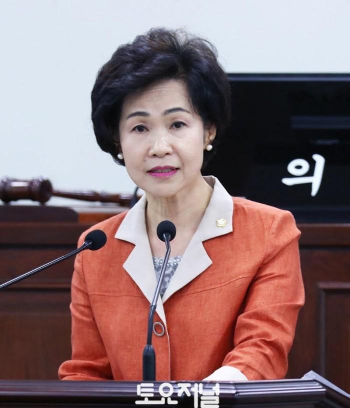20190624 제267회 정례회 제2차 본회의 5분자유발언 나봉숙 의원.JPG