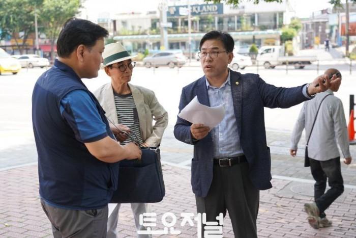 0705_제갑섭 강동구의회 부의장, 사설 견인차