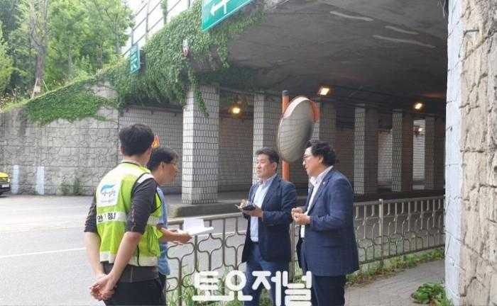 0709_강동구의회 방민수 의원, 암사동 토끼굴 선사문화유적 터널로 탈바꿈 되어야.jpeg