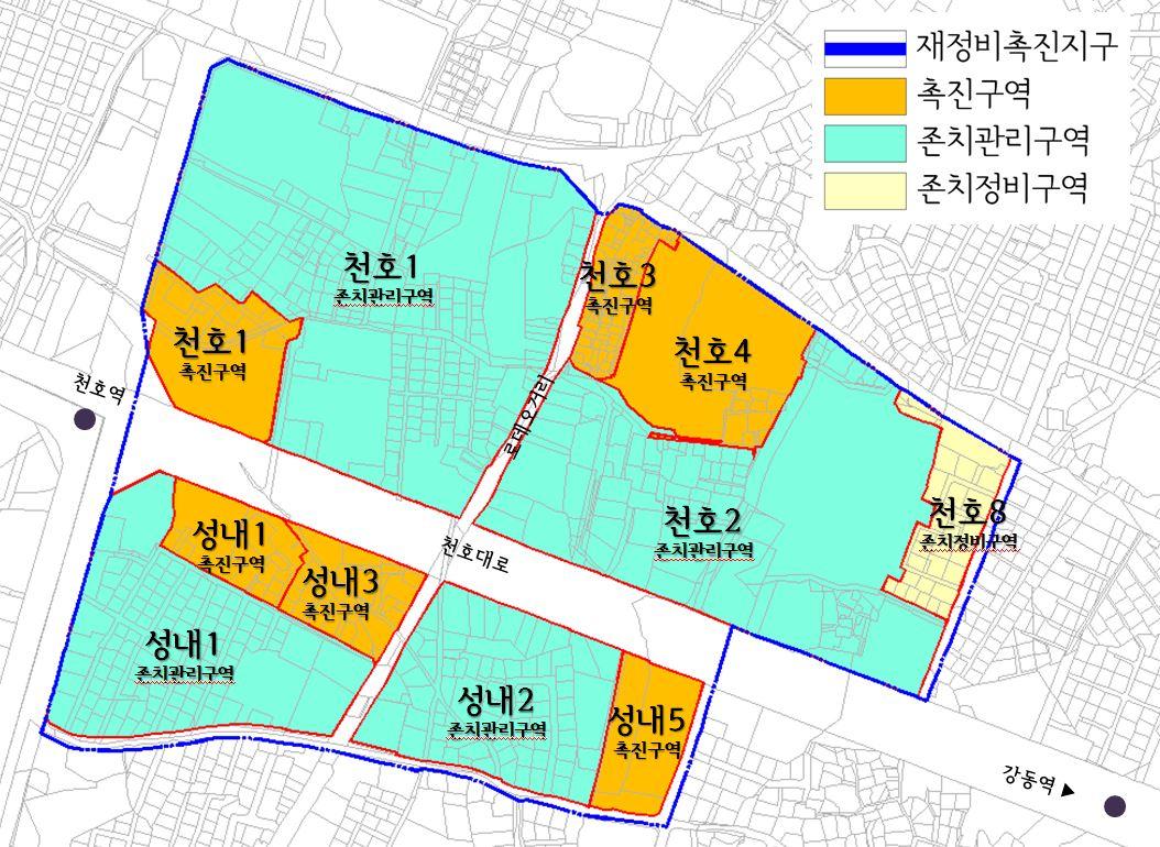 천호4구역, 최고 38층 4개동 670가구 주상복합으로 재탄생