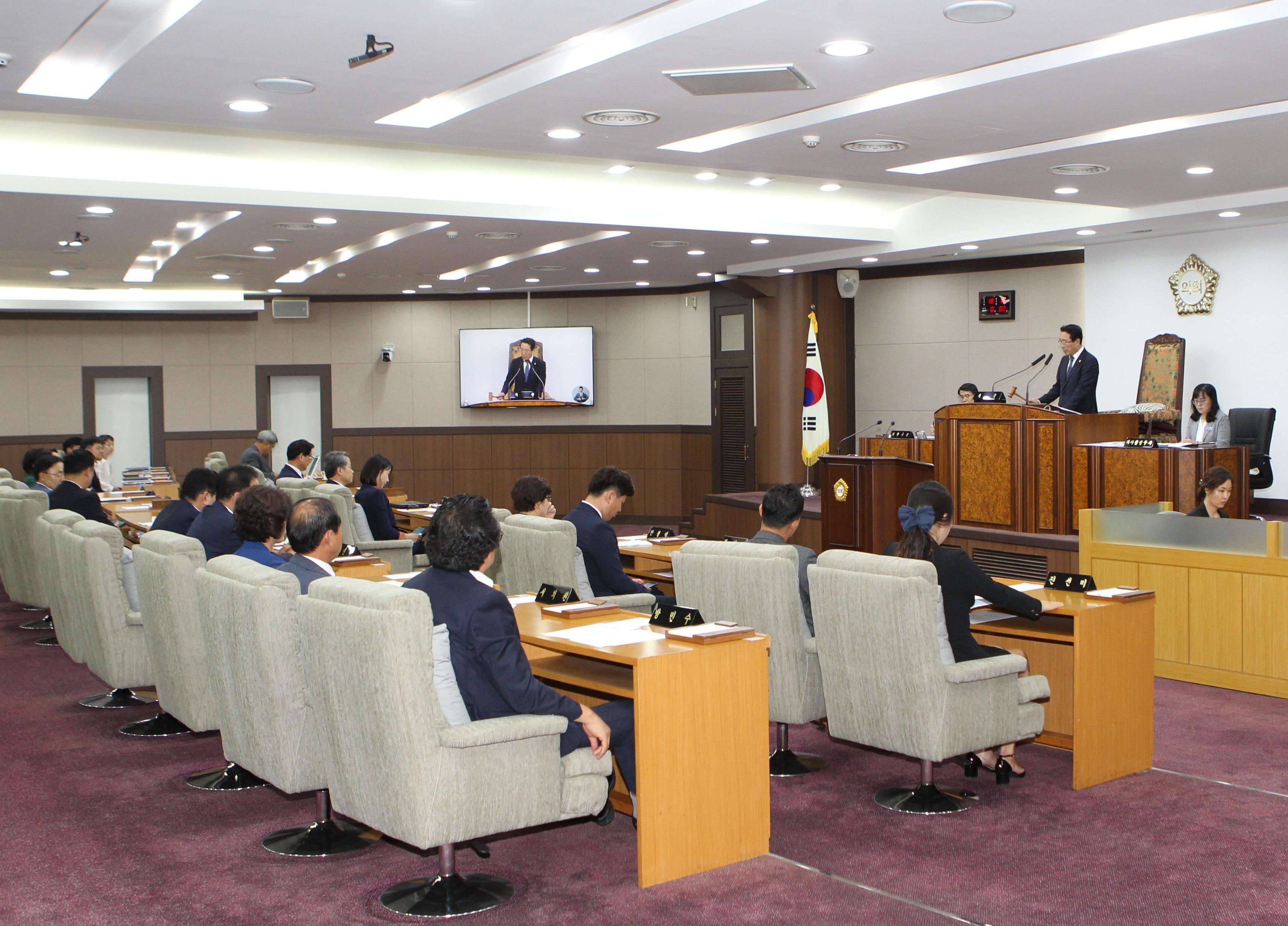 강동구의회, 제266회 임시회 폐회