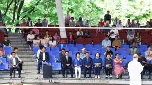 이성자 의장,'제28회 송파백중놀이 행사'참석