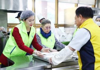 이성자의장,'송파구 주민을 위한 자장면 나눔행사'참석