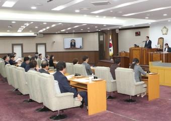 강동구의회, 제269회 임시회 개회