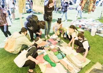 강동구, 열린뜰 재활용 플리마켓과 힐링 콘서트 열려